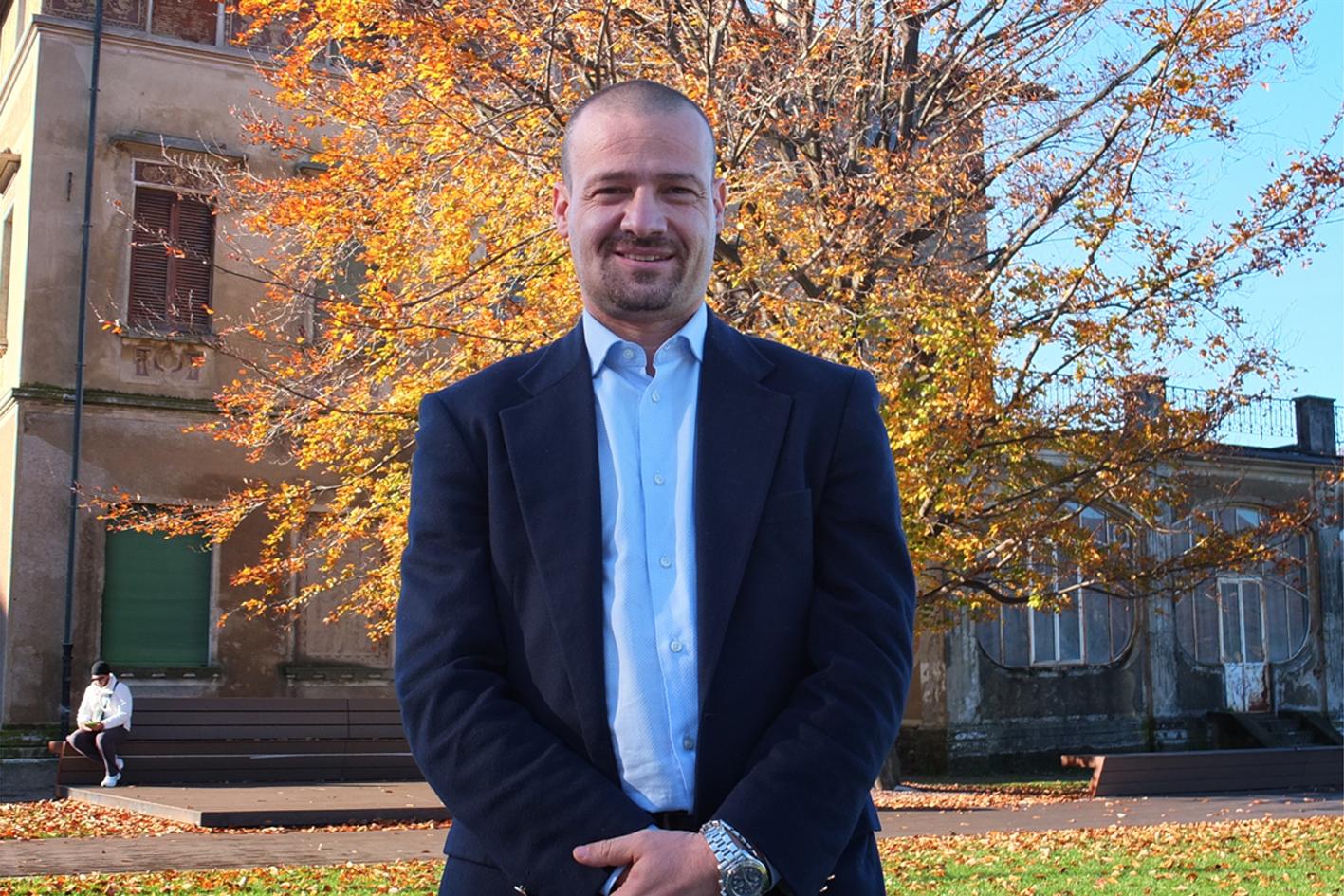 Elezioni Luino candidato sindaco Alessandro Casali