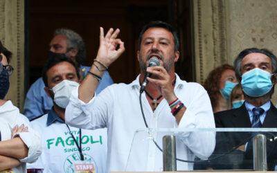 Elezioni Legnano, Salvini: «Noi più forti delle bugie»
