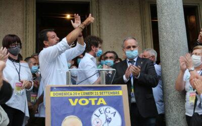 Verso le elezioni, Matteo Salvini lascia aperti i giochi