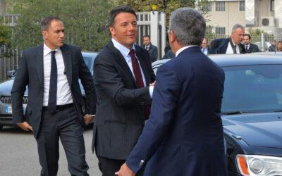 Elezioni Saronno, Matteo Renzi a teatro per sostenere Gilli