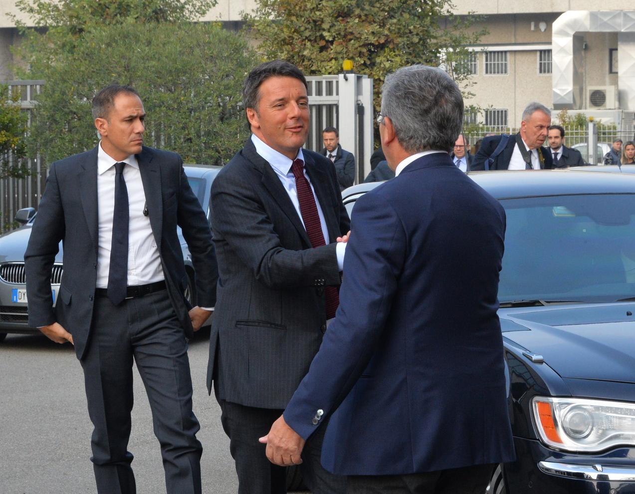 Elezioni Saronno visita Matteo Renzi
