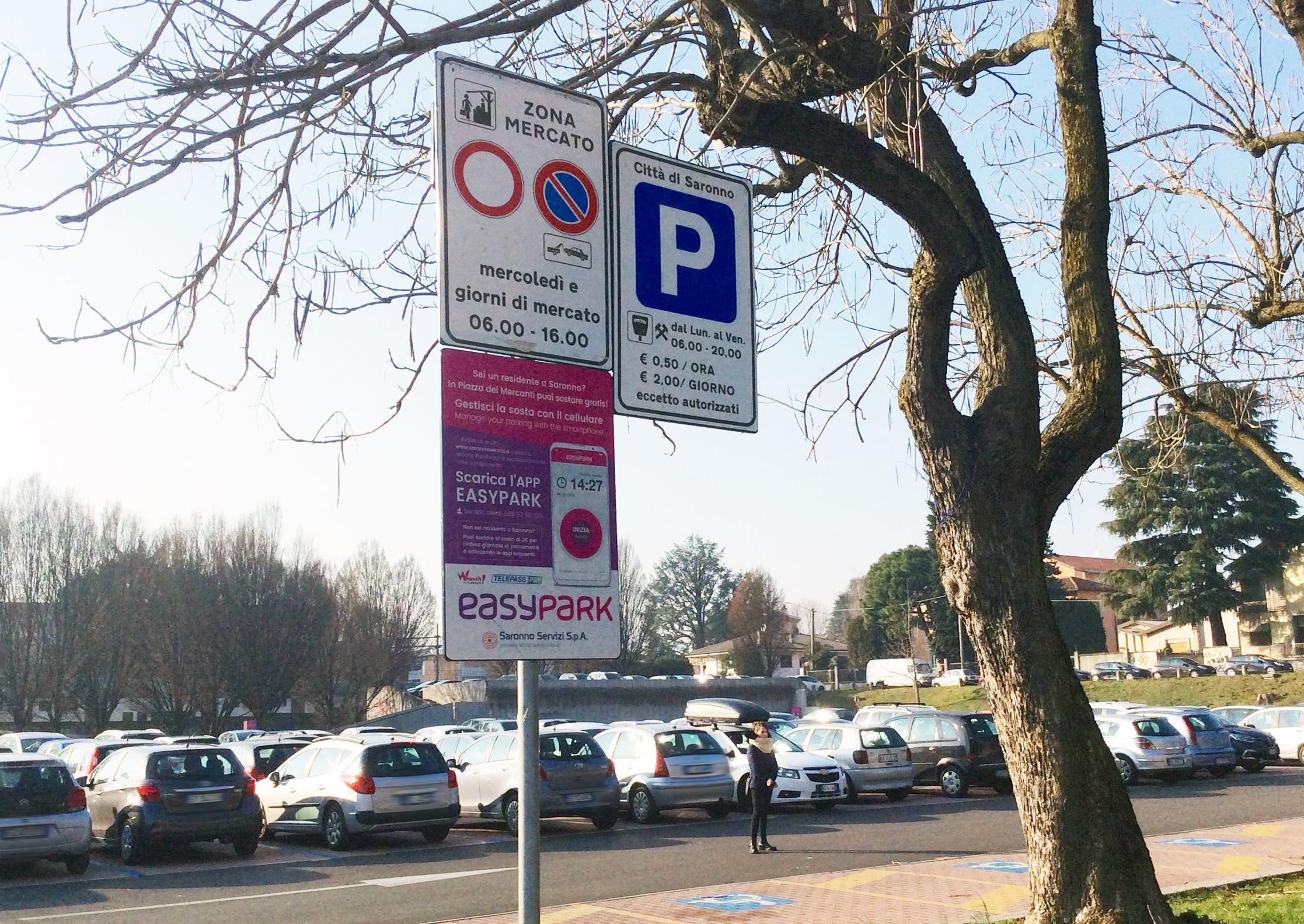 Elezioni Saronno tema parcheggi