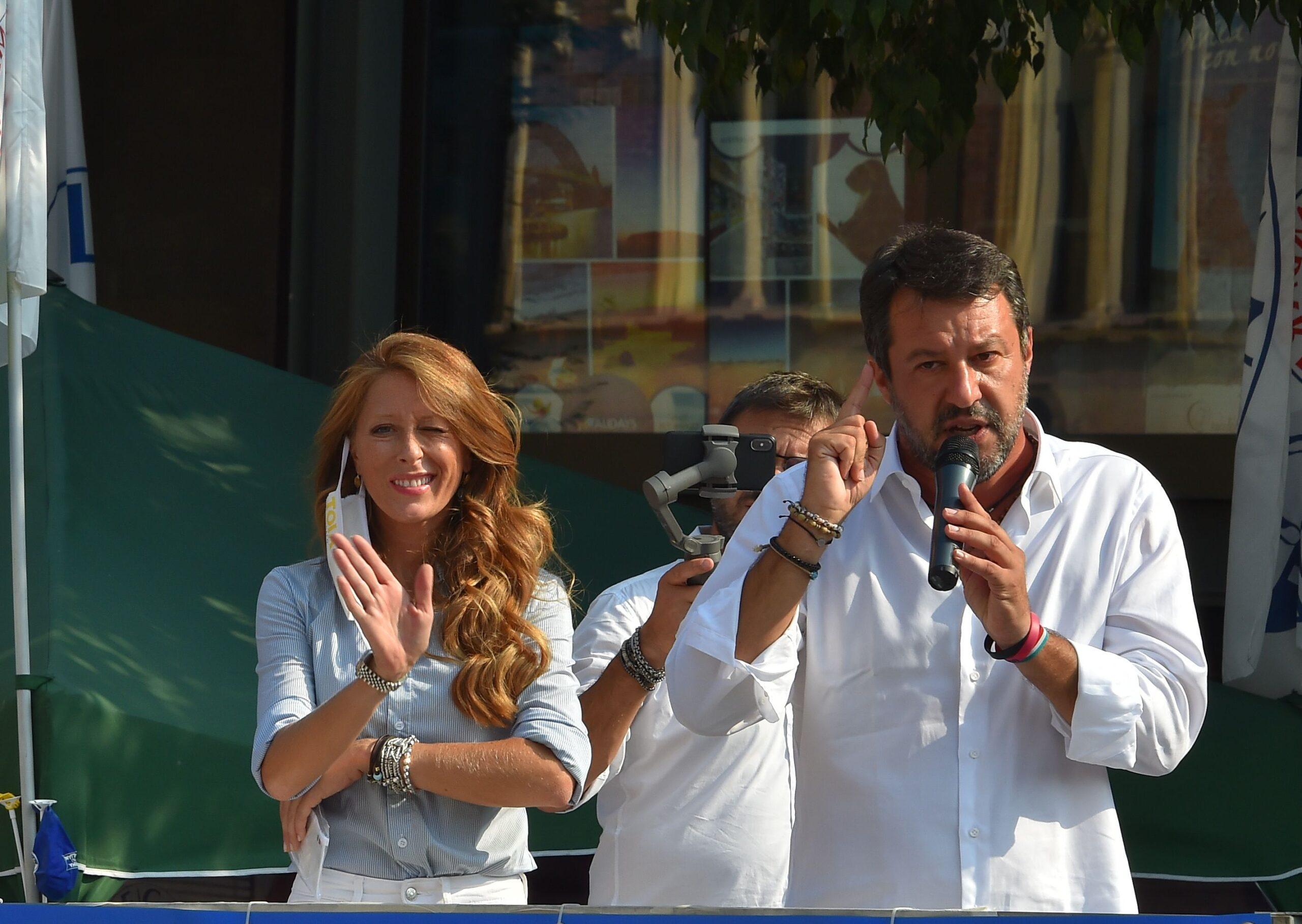 Elezioni Legnano Salvini a sostegno del candidato sindaco Toia